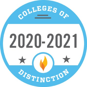 Colleges of Distinction 2020 - Walsh University Online Masters Degrees